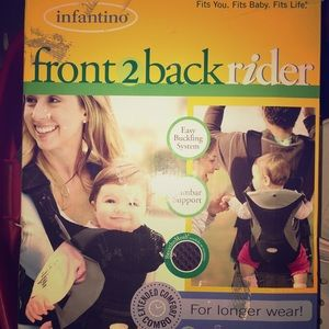 Infantino Front to Back Rider Carrier
